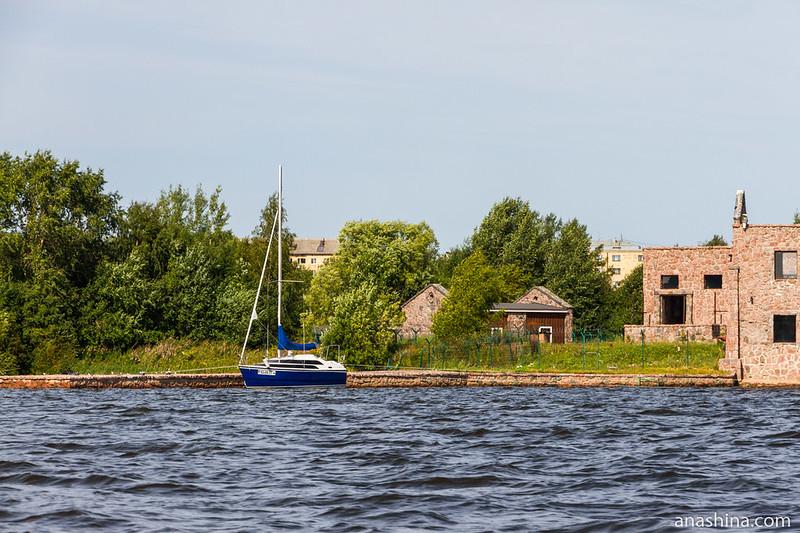 Яхта, Сортавала