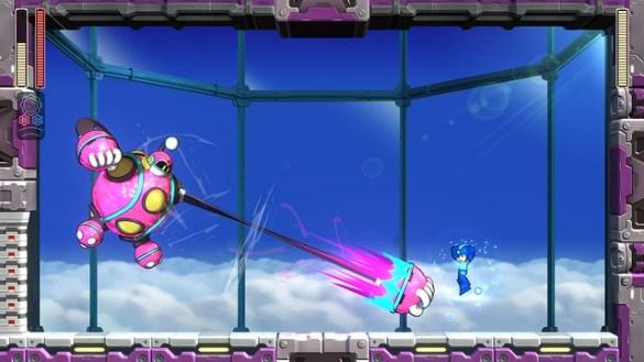 Mega Man 11 – 4_Bounce_Fight