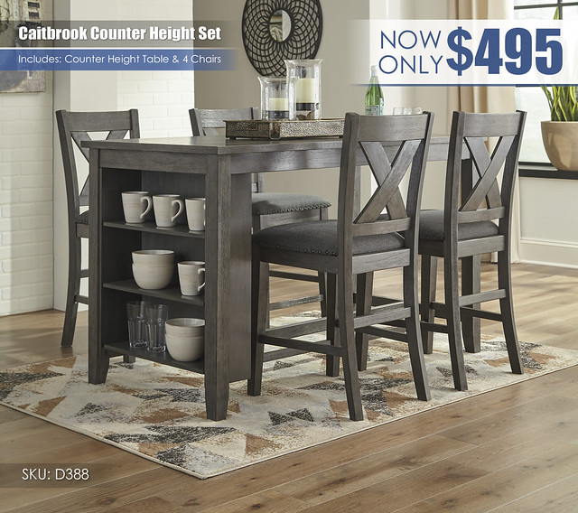 Caitbrook Counter Height Table & 4 Chairs_D388-13-124(4)