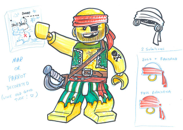 LEGO Collectible Minifigures design