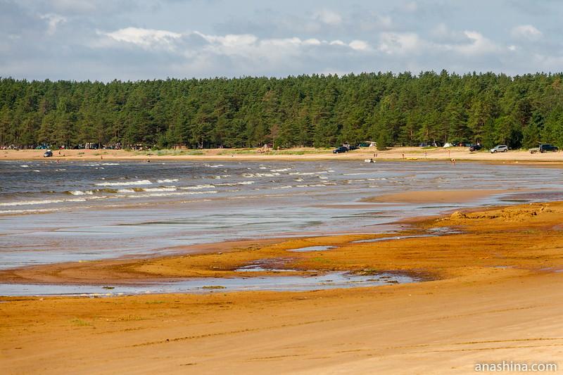 Субботний пляж, Балтийское море