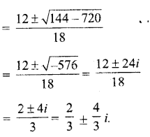 UP Board Solutions for Class 11 Maths Chapter 5 Complex Numbers and Quadratic Equations 6.1
