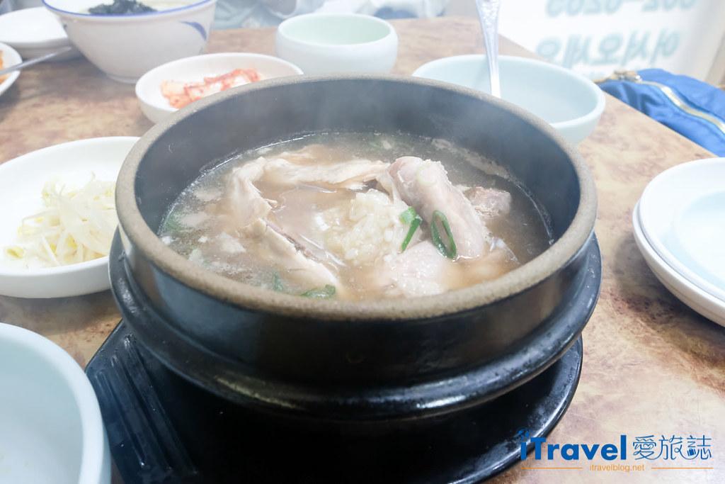 釜山地雷餐廳 五福蔘雞湯 (1)