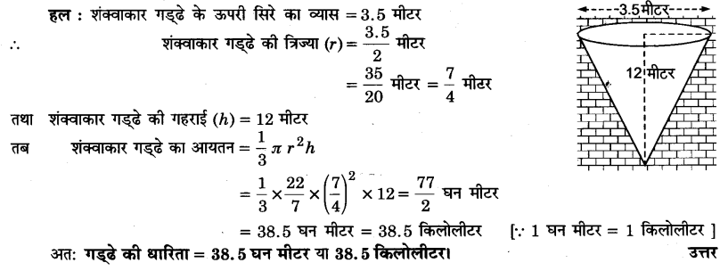 UP Board Solutions for Class 9 Maths Chapter 13 Surface Areas and Volumes 13.7 5