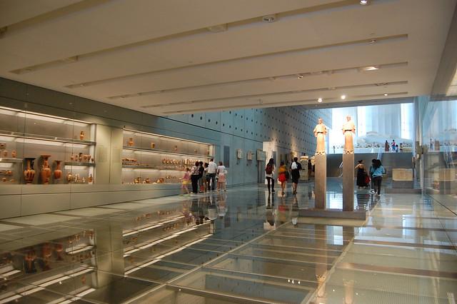 First floor of Acropolis Museum