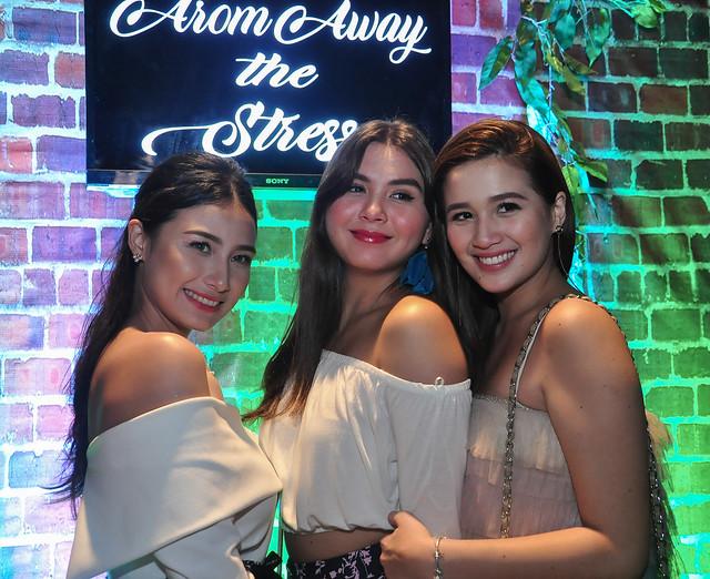 GMA Artists Liezel Lopez, Ashley Ortega, Alyana Asistio