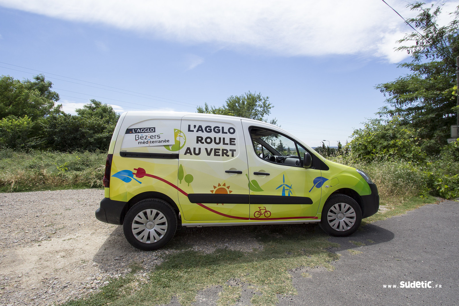 Sudetic total covering Citroen Berlingo Agglo Beziers Med-3