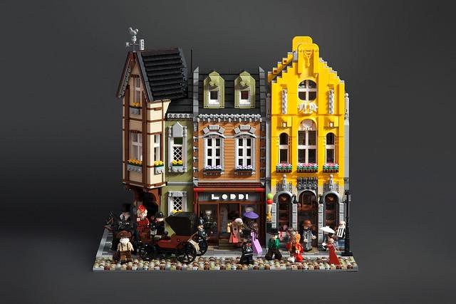 LEGO Modular epoque victorienne