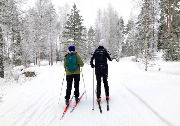Esquí en Finlandia