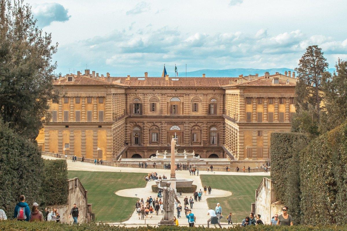 Palazzo Pitti, vista dai Giardini