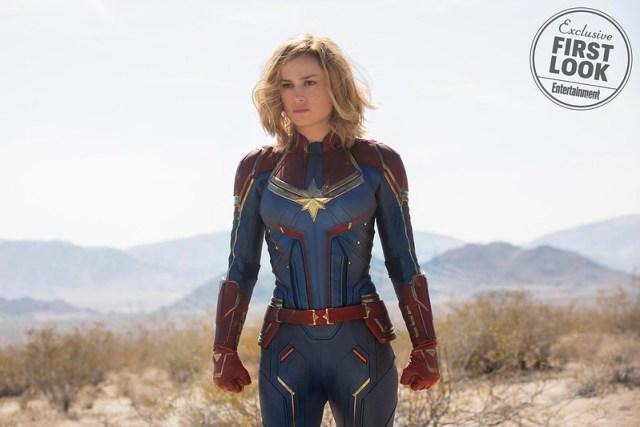 Captain Marvel stills