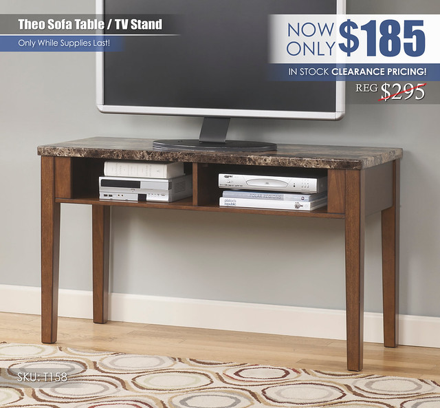 Theo TV 48in Table T158_Clearance