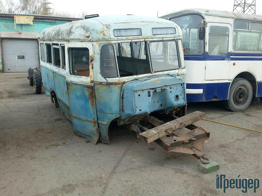 В таком виде КаВЗ-651 достался реставраторам
