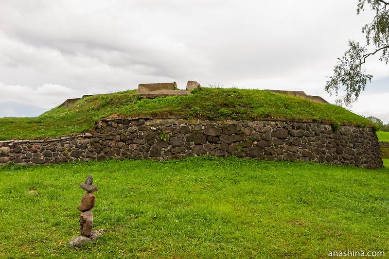 Басту-бастион, крепость Корела в Приозерске