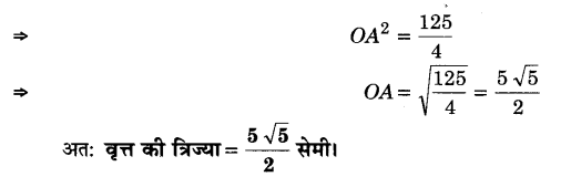 UP Board Solutions for Class 9 Maths Chapter 10 Circle 10.6 2.2