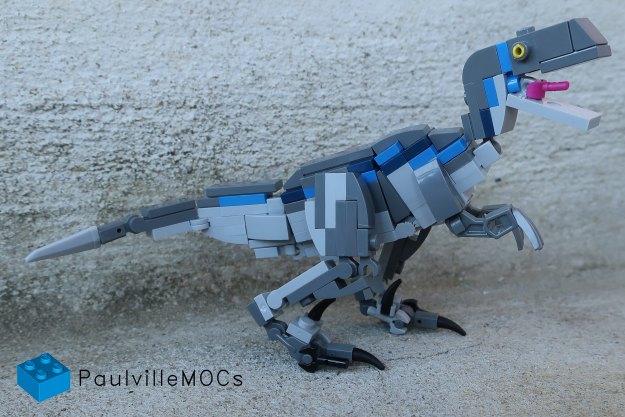 乐高侏罗纪世界蓝色迅猛龙离开了