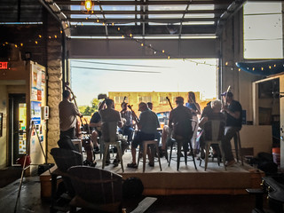 French Broad Valley Musicians Association at Sanctuary Brewing-006