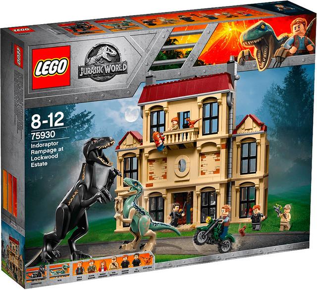 REVIEW LEGO 75930 Indoraptor Rampage