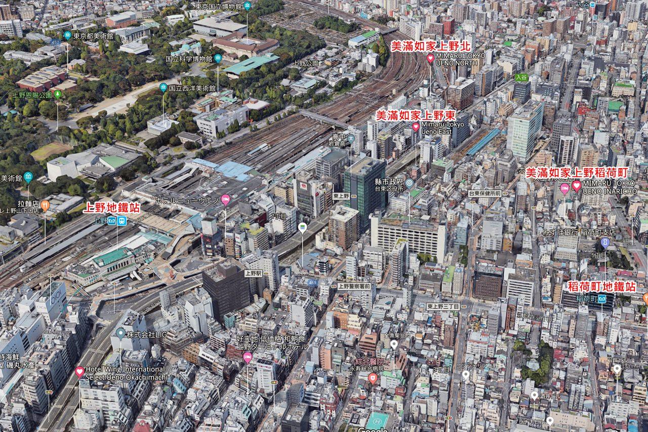 Apartment Hotel MIMARU Map