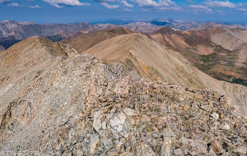 Tabeguache Peak Summit
