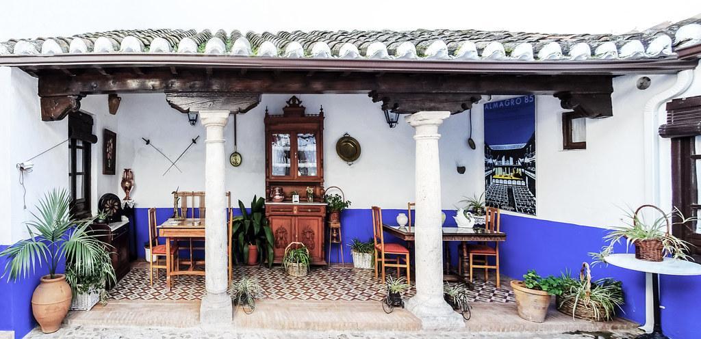 patio casa rural manchega alojamiento Almagro Ciudad Real 01
