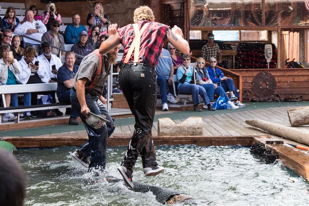The Great American Lumberjack Show, Ketchikan