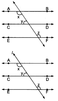 UP Board Solutions for Class 9 Maths Chapter 6 Lines and Angles 6.2 2