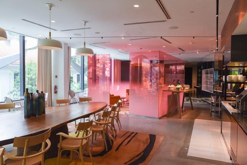 executive lounge - jw marriott singapore south beach