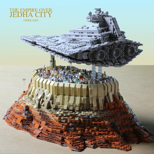 帝国在Jedha城市