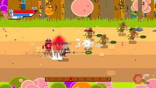 ninjin-clash-of-carrots-review-3-overcluster