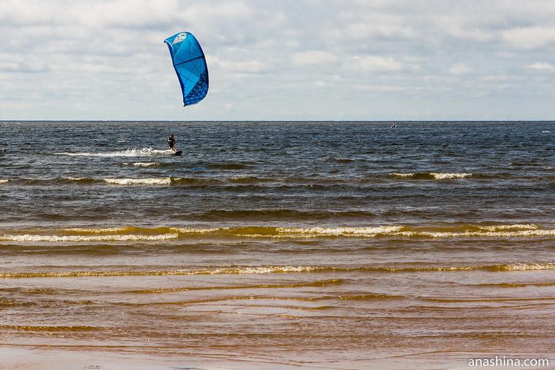 По волнам, Балтийское море