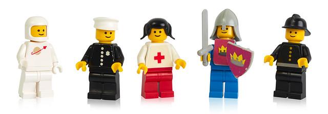 1978 LEGO minifigures