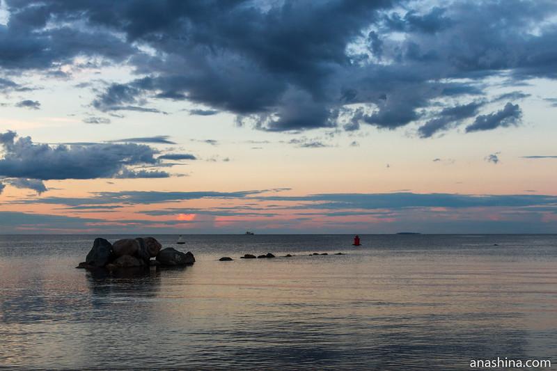 Волнорез, Ладожское озеро, Приозерск