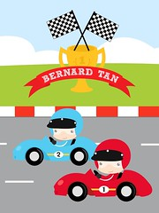 Vertical-Racing Cars