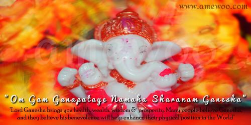 Ganesh puja #amewoo Greetings