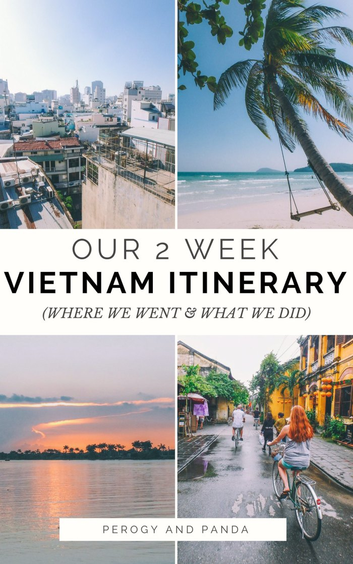 Our 2 Week Vietnam Itinerary