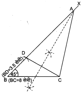 UP Board Solutions for Class 9 Maths Chapter 11 Constructions 11.2 2