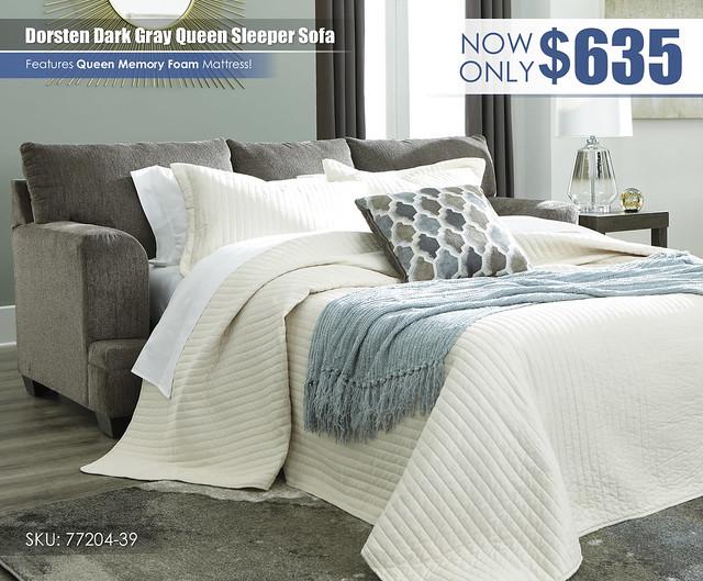 Dorsten Queen Sleeper Sofa_77204-39