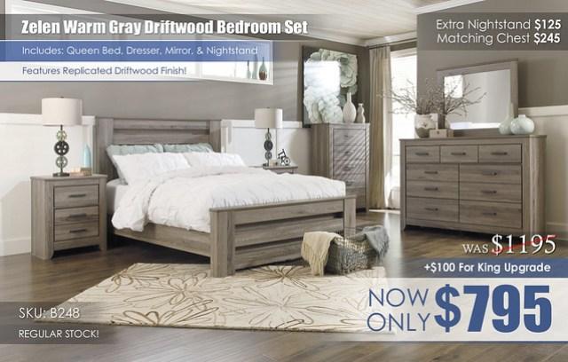 Zelen Bedroom Set B248-31-36-46-67-64-98-92_RS