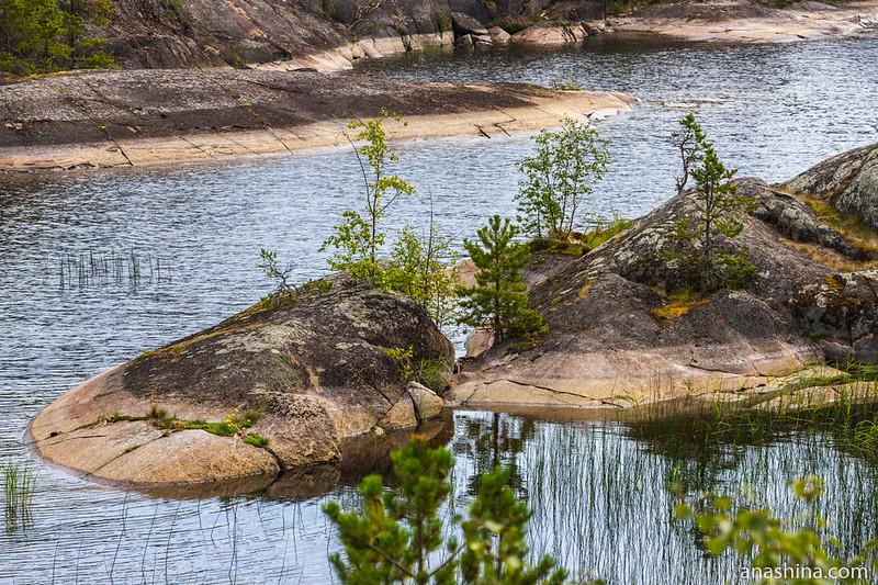 Остров Хонкасало, Ладожское озеро