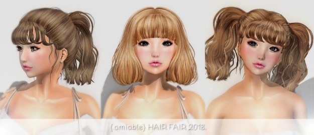 {amiable} HAIR FAIR 2018.