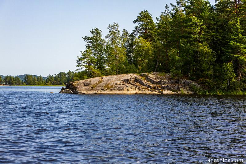 Бараний лоб, Ладожское озеро