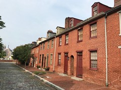 Rowhouses, 600 block of Stirling Street (west side), Baltimore, MD 21202