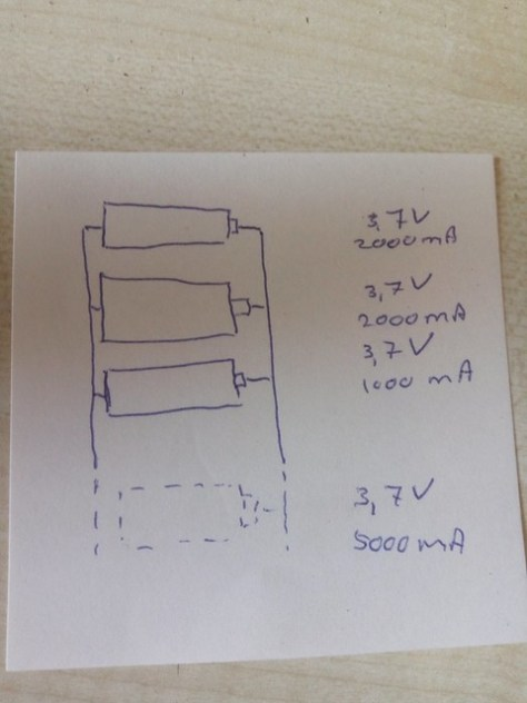 Batteries parallel