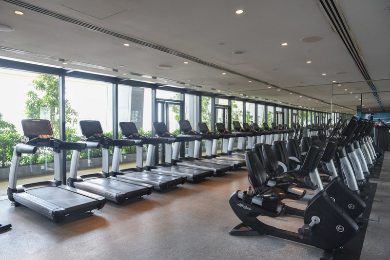 fitness centre of jw marriott singapore south beach