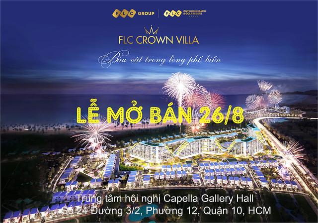 Lễ mở bán FLC Crown Villa 26/8 tại trung tâm hội nghị Capella Gallery Hall - Số 24 đường 3/2, Phường 12, Quận 10, HCM.