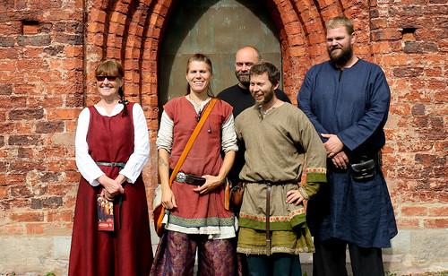 Monica Stangel Löfvall, Korp Wallman, Mikael Thun, Robert Wallman och Jörgen Jonsson, några av eldsjälarna bakom Söderköpings Gästabud