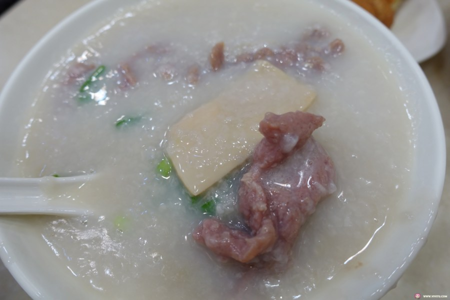 [香港美食]洪利粥店茶餐廳~來到尖沙咀就是要吃道地的粥品名店.品嚐入口即化的生滾粥 @VIVIYU小世界