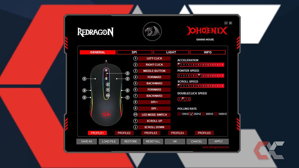 Redragon Phoenix- OverCluster