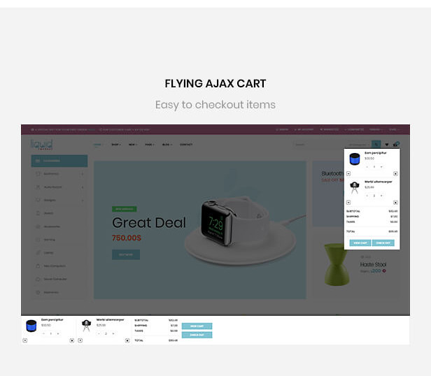 flying ajax cart
